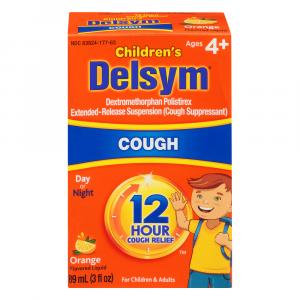 Delsym Children's 12-Hour Cough Suppressant