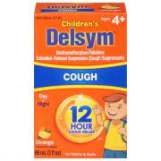 Delsym Children's 12-Hour Cough Suppressant