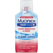 Mucinex Fast-Max Clear & Cool Severe Congestion & Cough