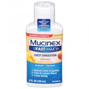 Mucinex Fast Max Chest Congestion Honey