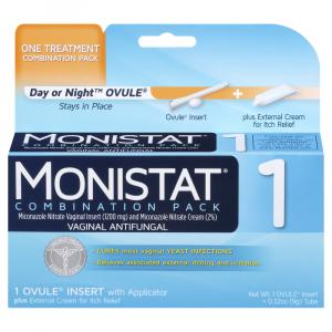 Monistat 1 Combination Pack Cure & Itch Relief