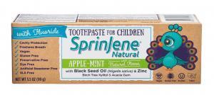Sprinjene Natural Childrens Toothpaste Apple-Mint