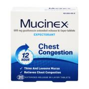 Mucinex Extended Release Congestion Tablets