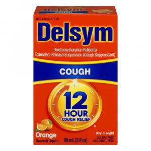 Delsym Adult Orange Cough Syrup