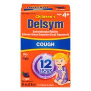 Delsym Children's Grape Cough Syrup