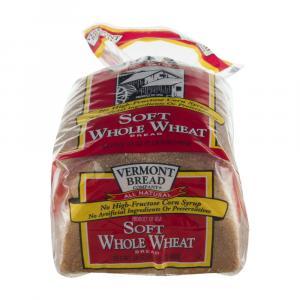 Vermont Bread Soft Whole Wheat Bread