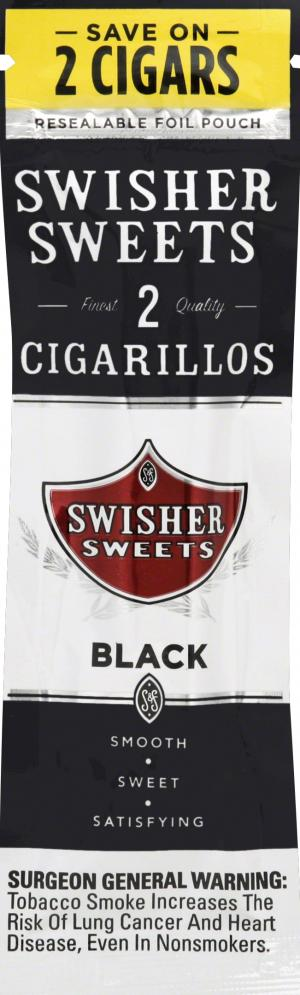 Swisher Sweets Cigarillos Black