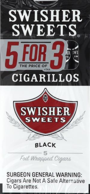 Swisher Sweets Black Cigarillo