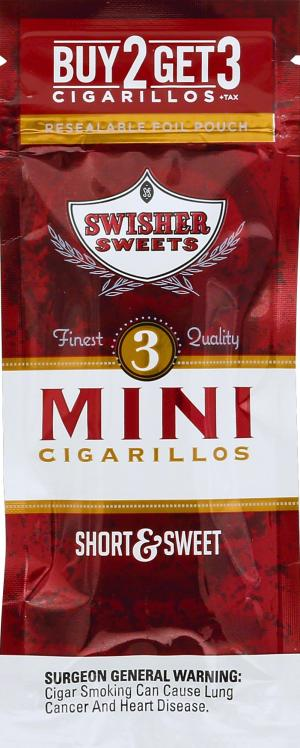 Swisher Sweets Short Sweet Mini Cigarillos