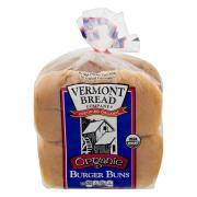 Vermont Bread Organic Burger Buns
