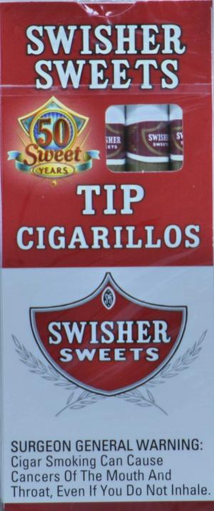 Swisher Sweets Tip Cigarillo Cigars