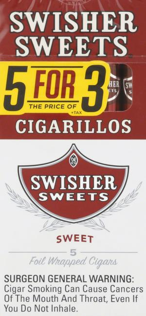 Swisher Sweets Sweet Cigarillo