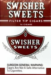 Swisher Sweets Filter Tips Cigars