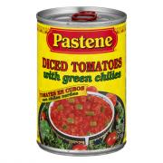 Pastene Diced Tomatoes with Chilies