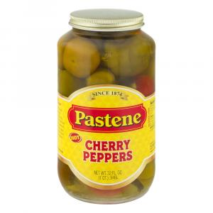Pastene Cherry Red Hot Peppers