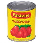 Pastene California Whole Plum Tomatoes