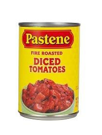 Pastene Fire Roasted Diced Tomatoes