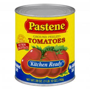Pastene No Salt Added Kitchen Ready Tomatoes