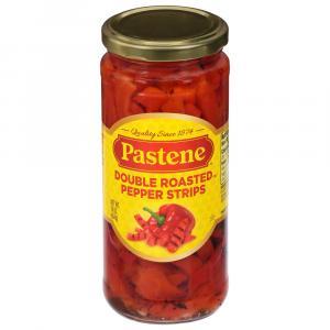 Pastene Double Roasted Pepper Strips