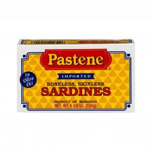 Pastene Boneless Skinless Sardines
