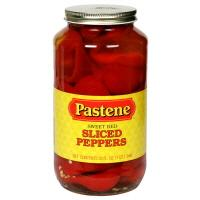 Pastene Sweet Red Sliced Peppers