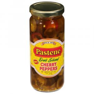Pastene Deli Sliced Cherry Peppers