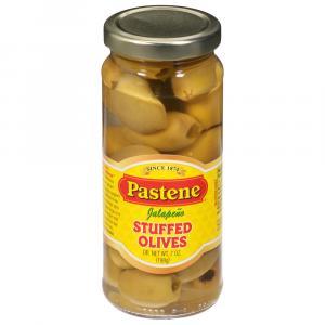 Pastene Jalapeno Stuffed Olives
