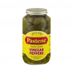 Pastene Vinegar Peppers