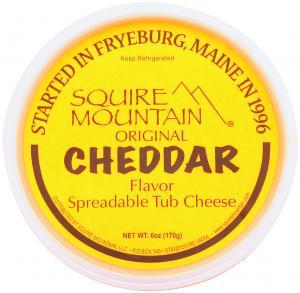 Squire Mountain Cheddar Tub Cheese