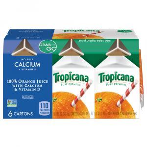 Tropicana Pure Premium Orange Juice w/Calcium & D