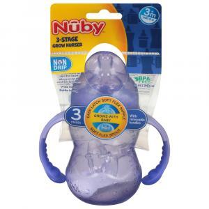 Nuby Non Drip Wide Neck Bottle Stage 3