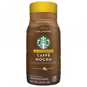 Starbucks Almond Milk Caffe Mocha