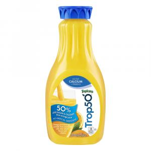 Tropicana 50 Orange Juice w/ Calcium