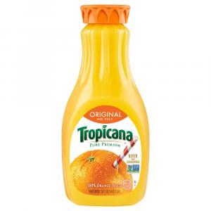 Tropicana No Pulp Pure Premium Orange Juice
