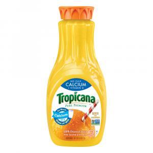 Tropicana Pure Premium No Pulp With Calcium Orange Juice