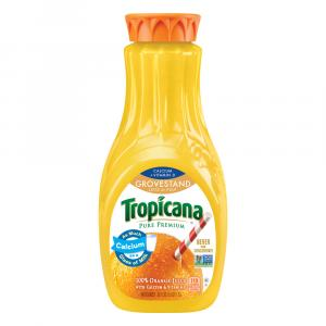 Tropicana Lots Of Pulp With Calcium Premium Orange Juice