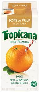 Tropicana Pure Premium Grovestand Orange Juice