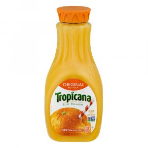 Tropicana No Pulp Pure Premium Orange Juice