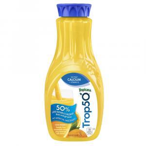 Tropicana 50 Orange Juice W/ Calcium