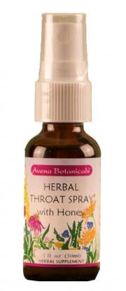 Avena Botanicals Herbal Throat Spray