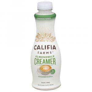 Califia Farms Unsweetened Almond Milk Creamer