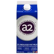 a2 2% Reduced Fat Milk