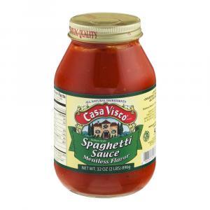 Casa Visco No Meat Pasta Sauce