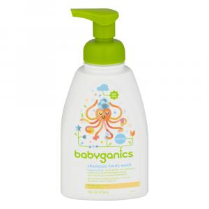 BabyGanics Fragrance Free Shampoo and Body Wash
