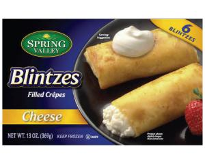 Spring Valley Cheese Blintzes