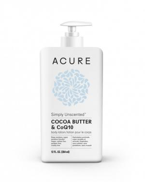 Acure Simply Unscented Cocoa Butter & Coq10 Lotion