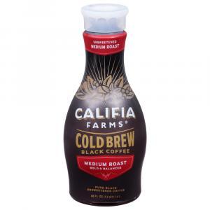 Califia Pure Black Unsweetened Cold Brew Coffee
