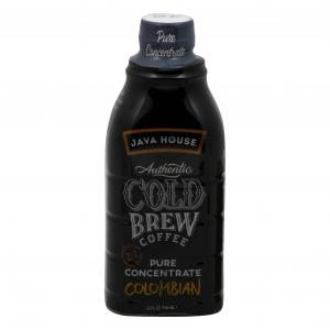 Java House Cold Brew Coffee Pure Concentrate Colombian Black