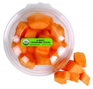 Organic Cantaloupe Chunks
