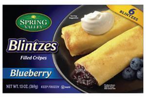 Spring Valley Blueberry Blintzes